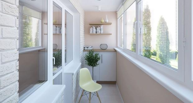 157 Варіанти обробки балкона
