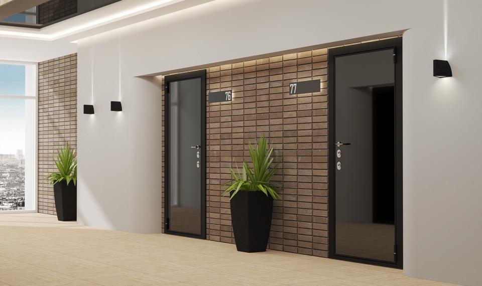 316 Двері вхідні металеві з шумоізоляцією