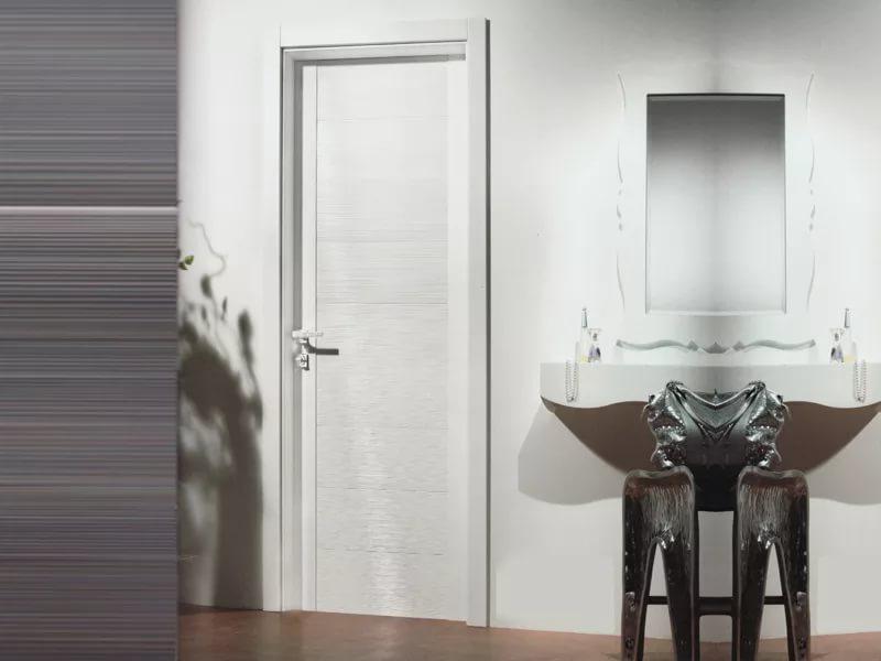691 Пластикові двері у ванну і туалет - хороша ідея