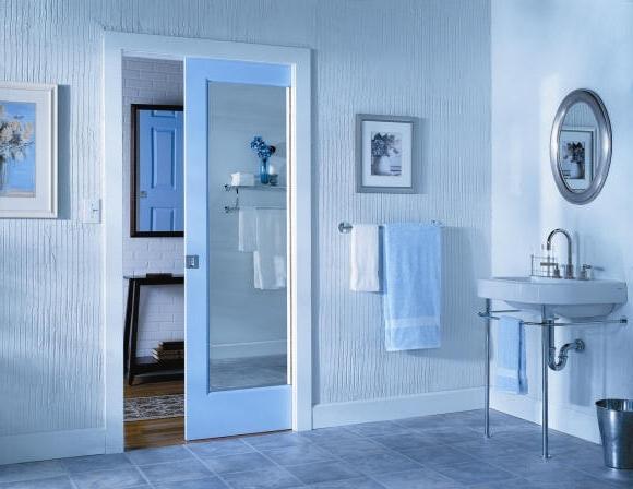 Розсувні двері для ванної та туалету – чи зручно