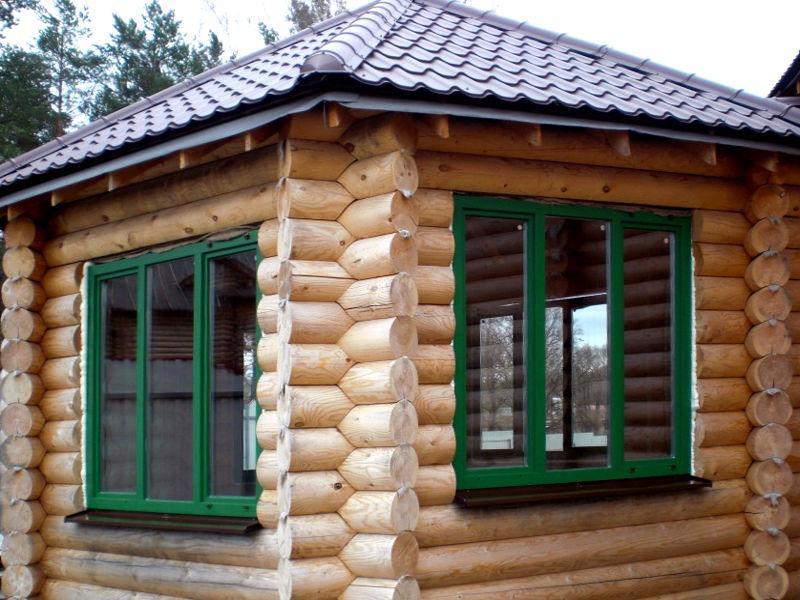 1803 Як вставити пластикові вікна в дерев'яний будинок