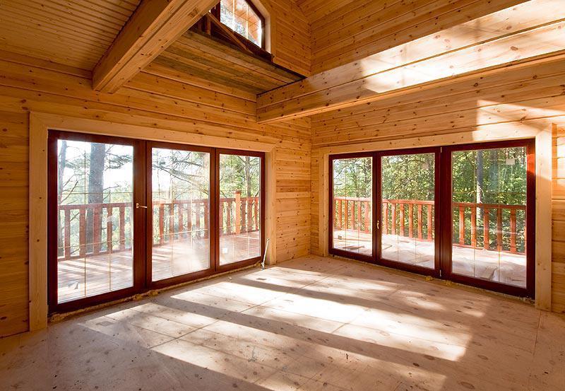 2491 Клееновій брус в вікнах