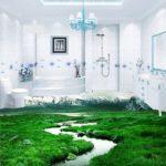 3313 3d підлоги у ванній - фантазія чи реальність