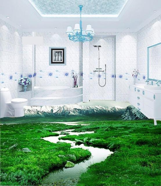 3d підлоги у ванній — фантазія чи реальність