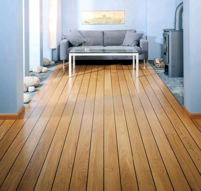 3317 Дерев'яна підлога своїми руками - сучасний стиль