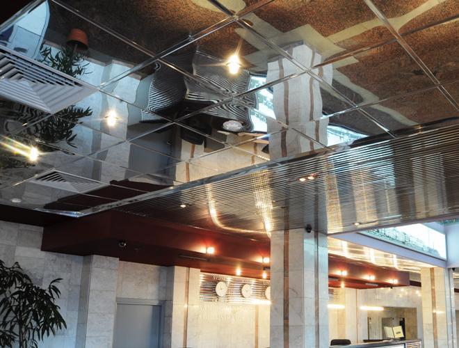 Касетна алюмінієва підвісна стеля: переваги і недоліки