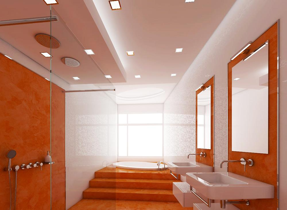 3954 Підвісна стеля у ванній кімнаті: види, особливості, поради по установці
