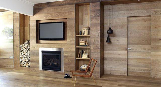 4804 Застосування панелей з дерева для стелі та стін