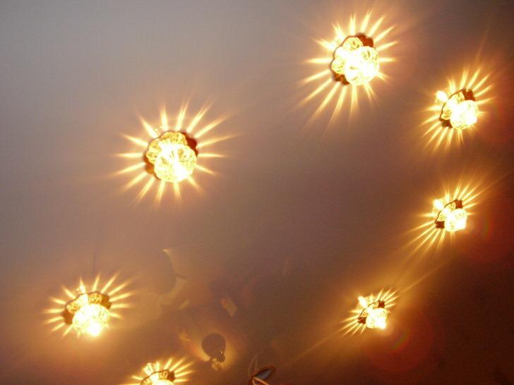 Про лампочки для стельових світильників