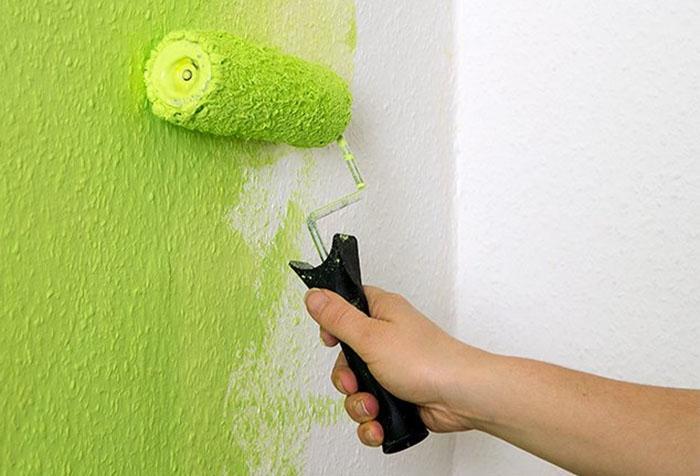 6365 Як фарбувати стелю акриловою фарбою