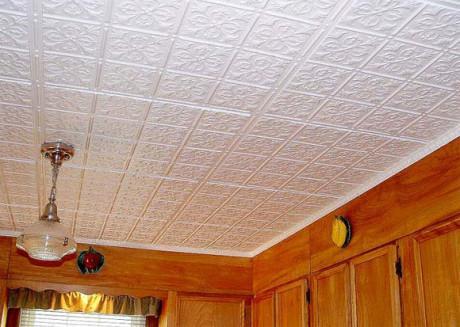 Пінопластові плити на стелю