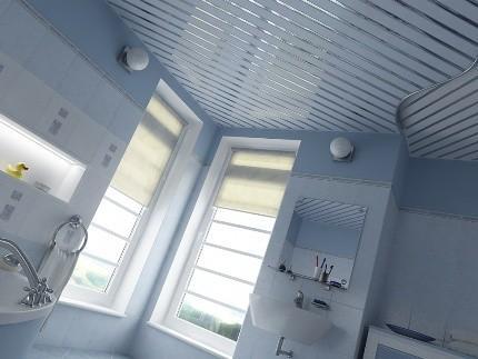 Як встановити рейкову стелю у ванній кімнаті своїми руками
