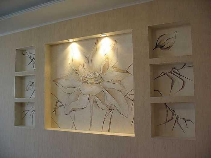 Як зробити нішу в стіні з гіпсокартону