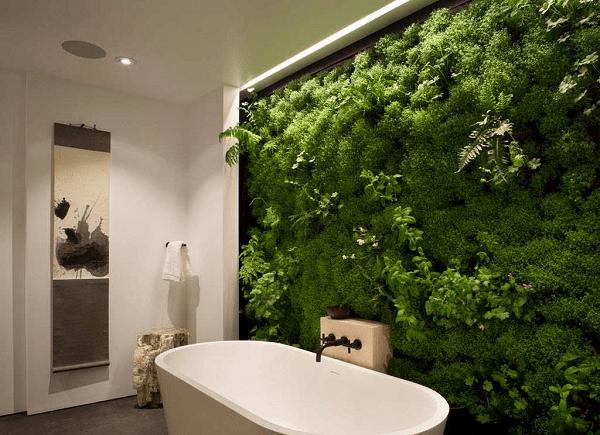 Шпалери в ванній кімнаті — як поклеїти правильно?