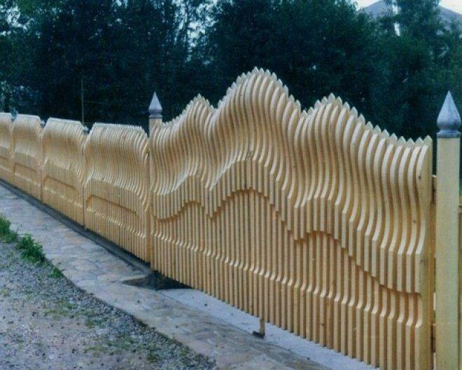 Робимо паркан з горбиля своїми руками