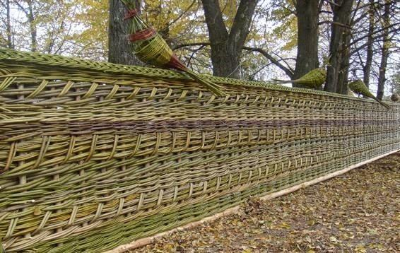 8444 Робимо плетений тин своїми руками