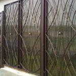 8918 Технологія будівництва паркану з полікарбонату своїми руками