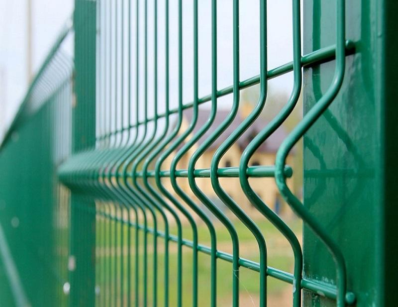 Як зробити секційний металевий паркан з зварної сітки