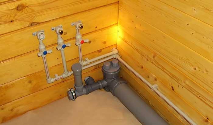 9396 Внутрішня каналізація в приватному будинку