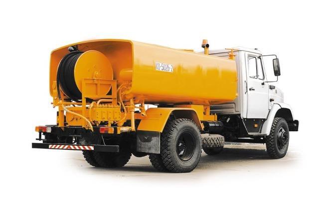 9581 Гідродинамічна машина для промивки каналізації - огляд