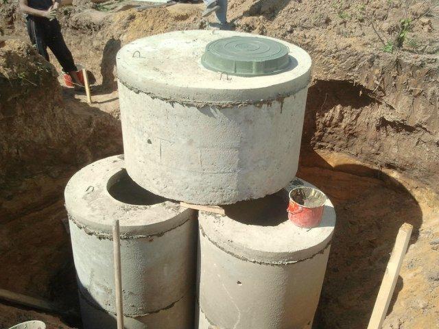Септик з бетонних кілець своїми руками