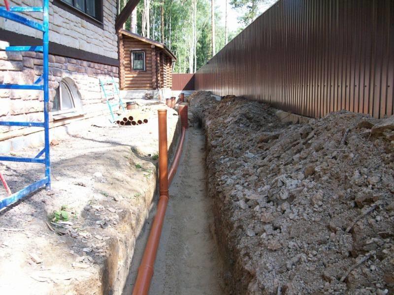 Зливова каналізація: проектування, розрахунок, монтаж