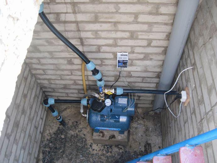 Як збільшити тиск у водопроводі