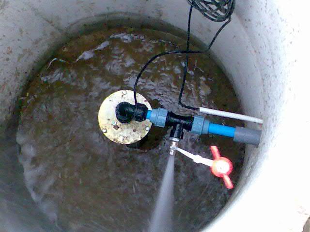 13511 Інструкція - як прочистити колодязь дренажним насосом