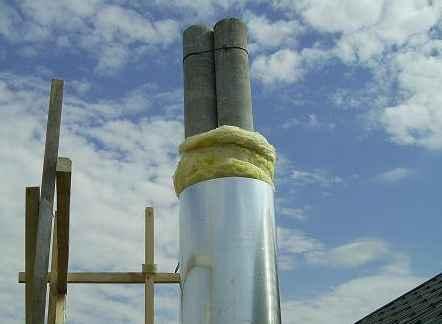 Утеплюємо димохідну трубу за сучасними методиками