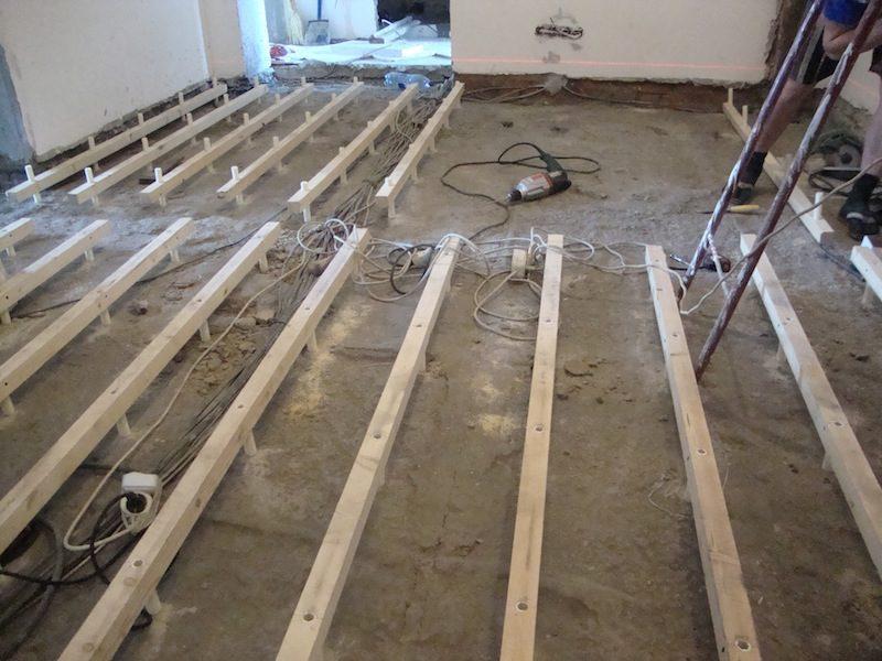 Як провести утеплення дерев'яної підлоги без допомоги фахівців