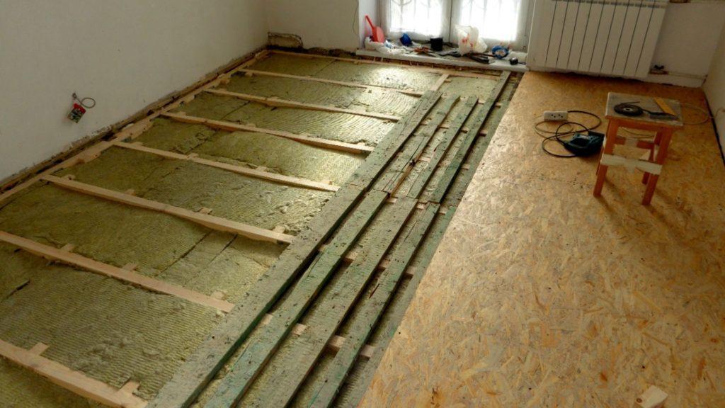 21411 Як провести утеплення дерев'яної підлоги без допомоги фахівців