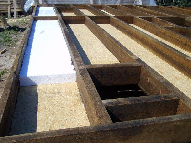 21425 Утеплюємо дерев'яну підлогу за допомогою пінопласту