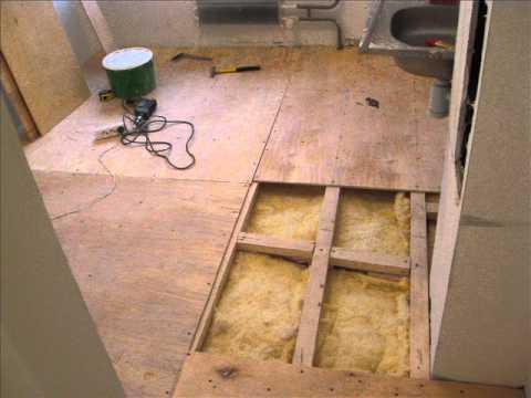 Утеплюємо підлогу в дерев'яному будинку своїми руками: схеми