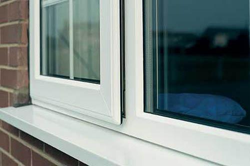 Якщо холод проходить через віконні укоси