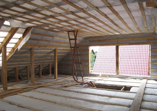 Як утеплити дах самостійно без допомоги фахівців