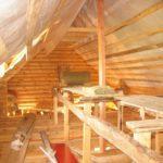 23769 Проведення якісного утеплення дахів дерев'яного будинку