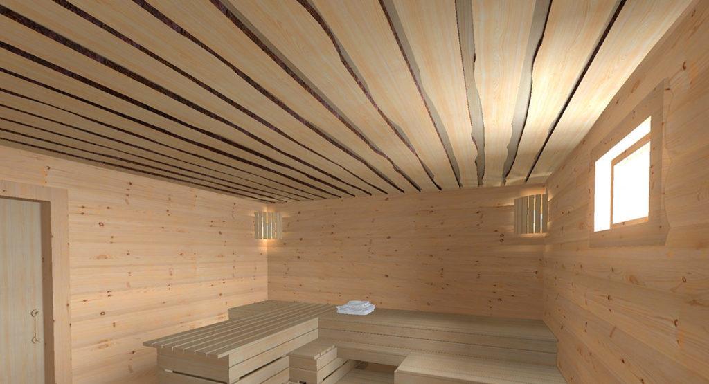 Чому дах лазні повинен бути теплий і утеплений