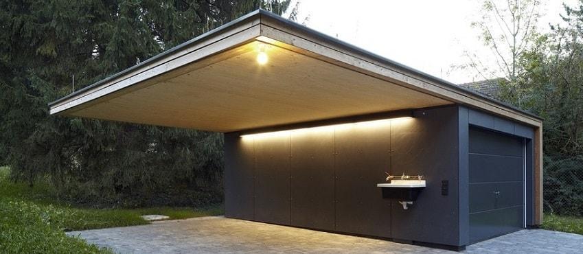 Як захистити дах гаража від холодів