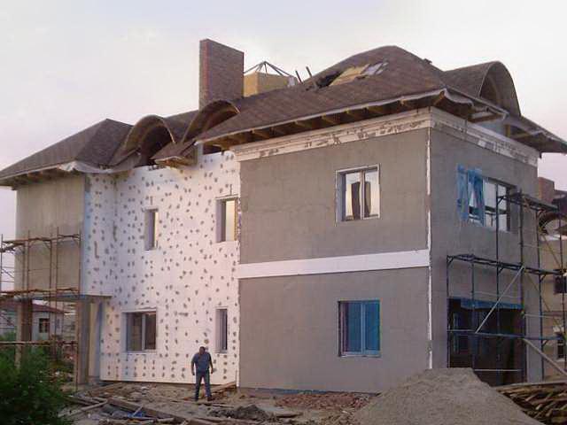 Правильна ізоляція будівлі пінопластом з зовнішньої сторони