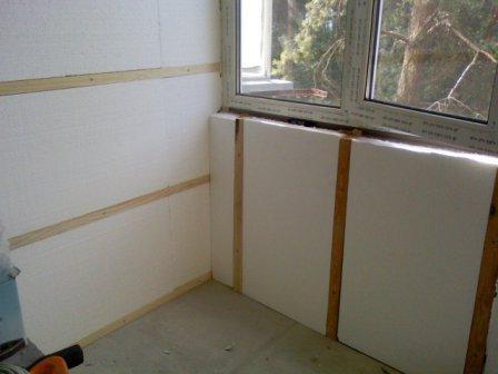 Професійне внутрішнє утеплення стін з використанням сучасних технологій