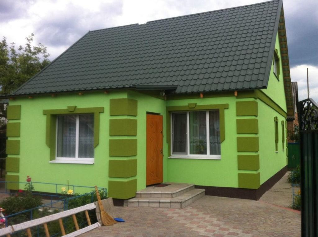 Утеплення фасаду будинку пінопластом