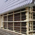 28419 Утеплюємо фасади дерев'яної будівлі