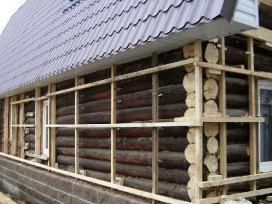 Утеплюємо фасади дерев'яної будівлі