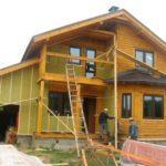 29278 Утеплення мінеральною ватою дерев'яних будинків