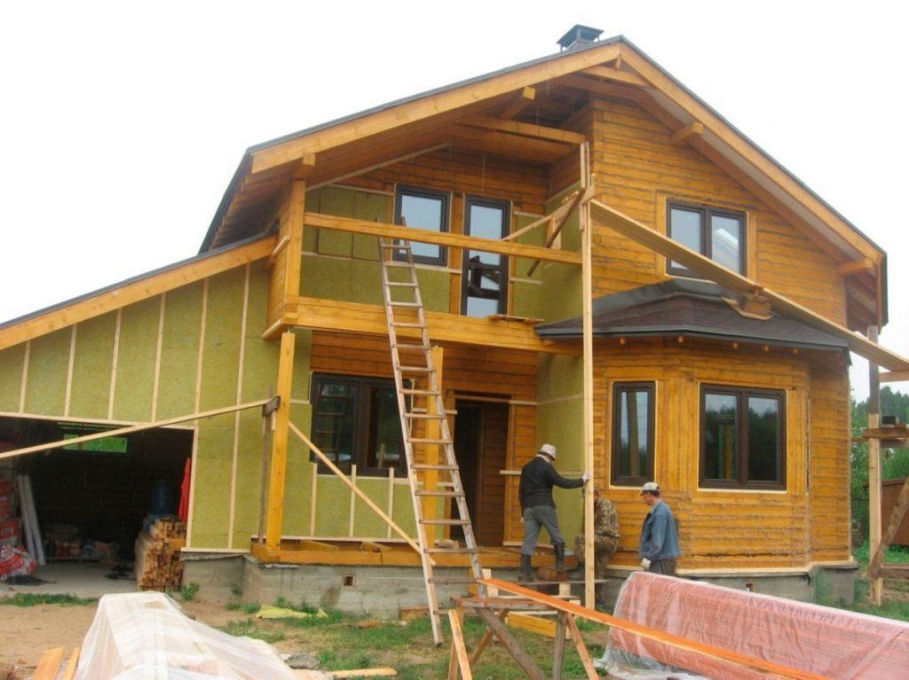 Утеплення мінеральною ватою дерев'яних будинків
