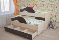 Дитячі викатні ліжка