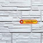 31862 Фасадні панелі Фасайдинг «Дачний» — Серія «Сланець», Білий