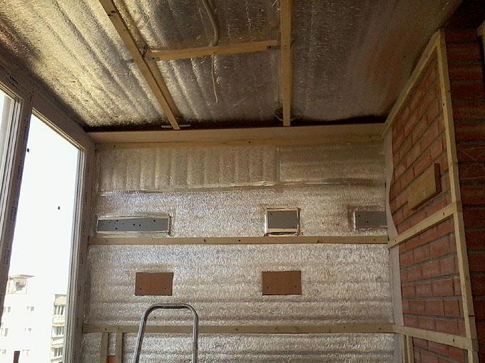Внутрішнє утеплення дерев'яного будинку