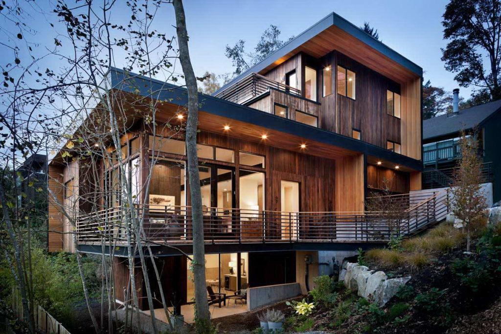 Зовнішнє утеплення дерев'яних будинків