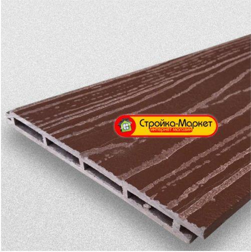 35915 Фасадна дошка ДПК — Faynag Wood, шоколад